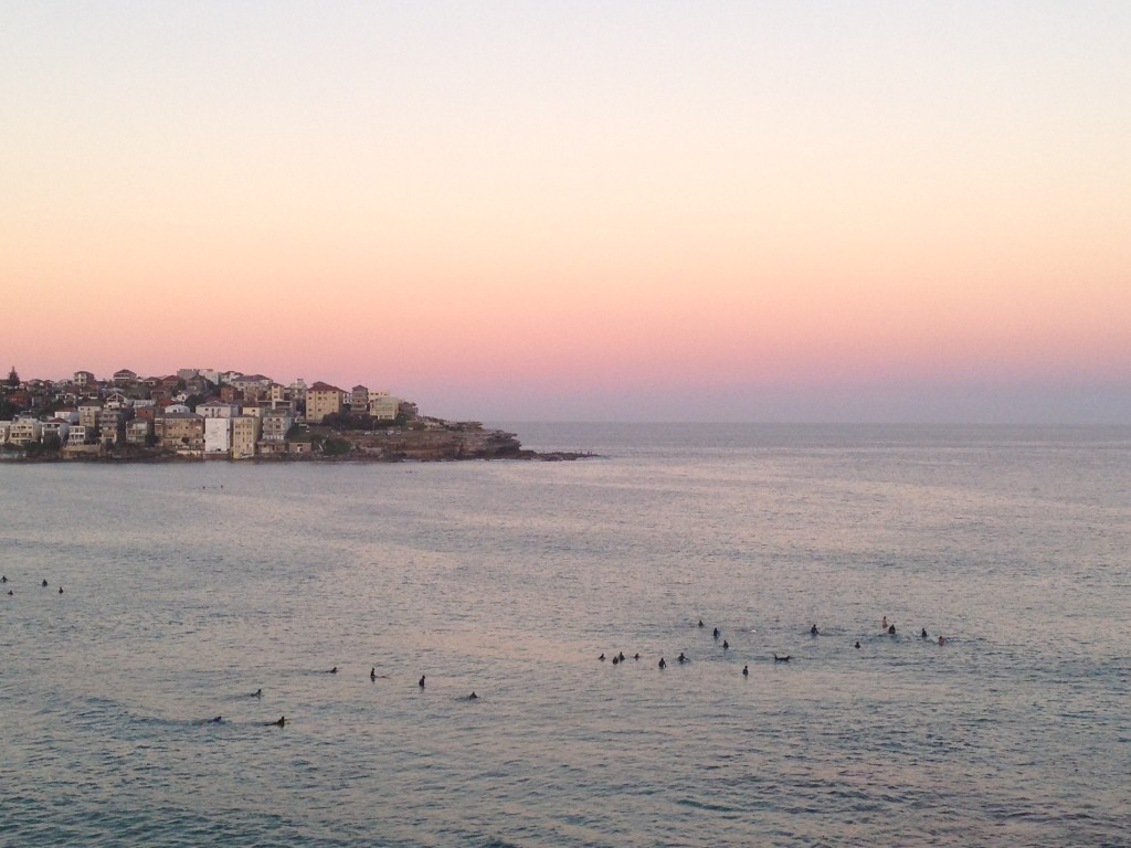 Sunset in Bondi