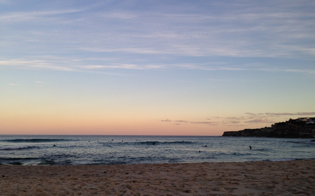 Tamarama Beach Sunset