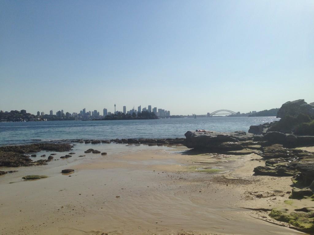 Distant View Of Sydney City