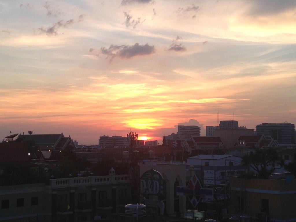 Last Sunset In Bangkok
